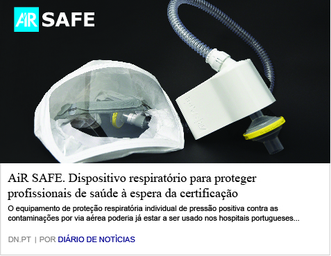 AiR SAFE. Breathing device to protect healthcare professionals waiting for certification